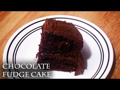 How To Make Moist Chocolate Fudge Cake