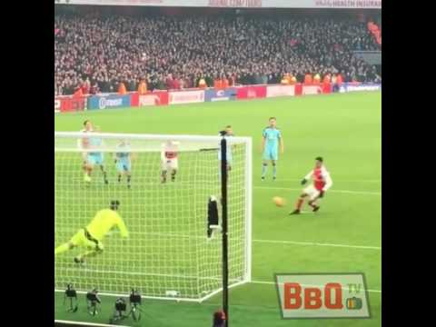 AMAZING PENALTY ALEXIS SANCHES!!