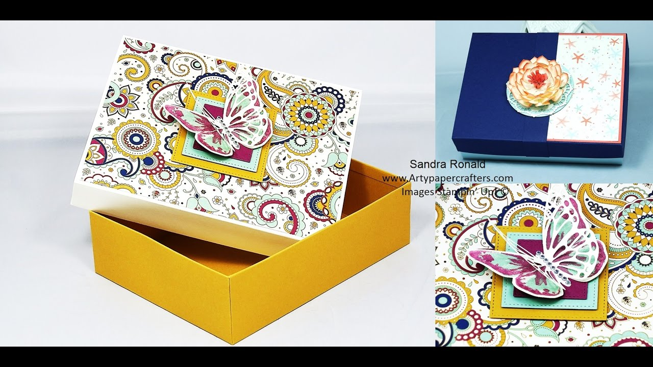 Download Large Reinforced BOX in INCHES -  SandraR Stampin' Up! Demonstrator Independent 1
