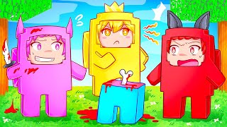 The Squad Plays Minecraft Among Us!