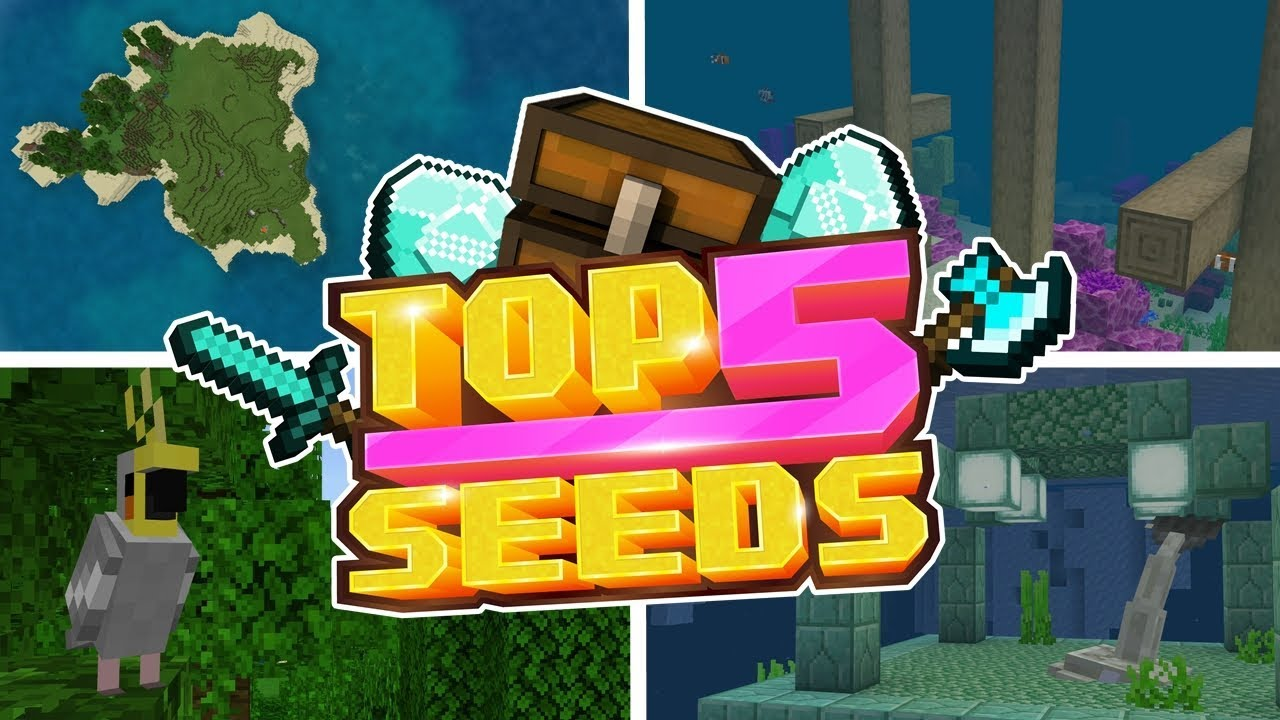 Top 5 Survival Island Seeds For Minecraft 112 Mcpe Xbox One Switch W10