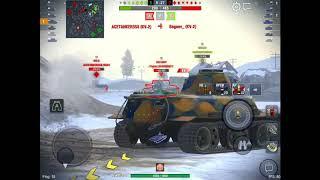 WoT Blitz Game Play - VK 30.02 M