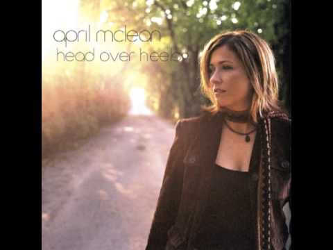 Lyrics containing the term: head over heels by april mclean