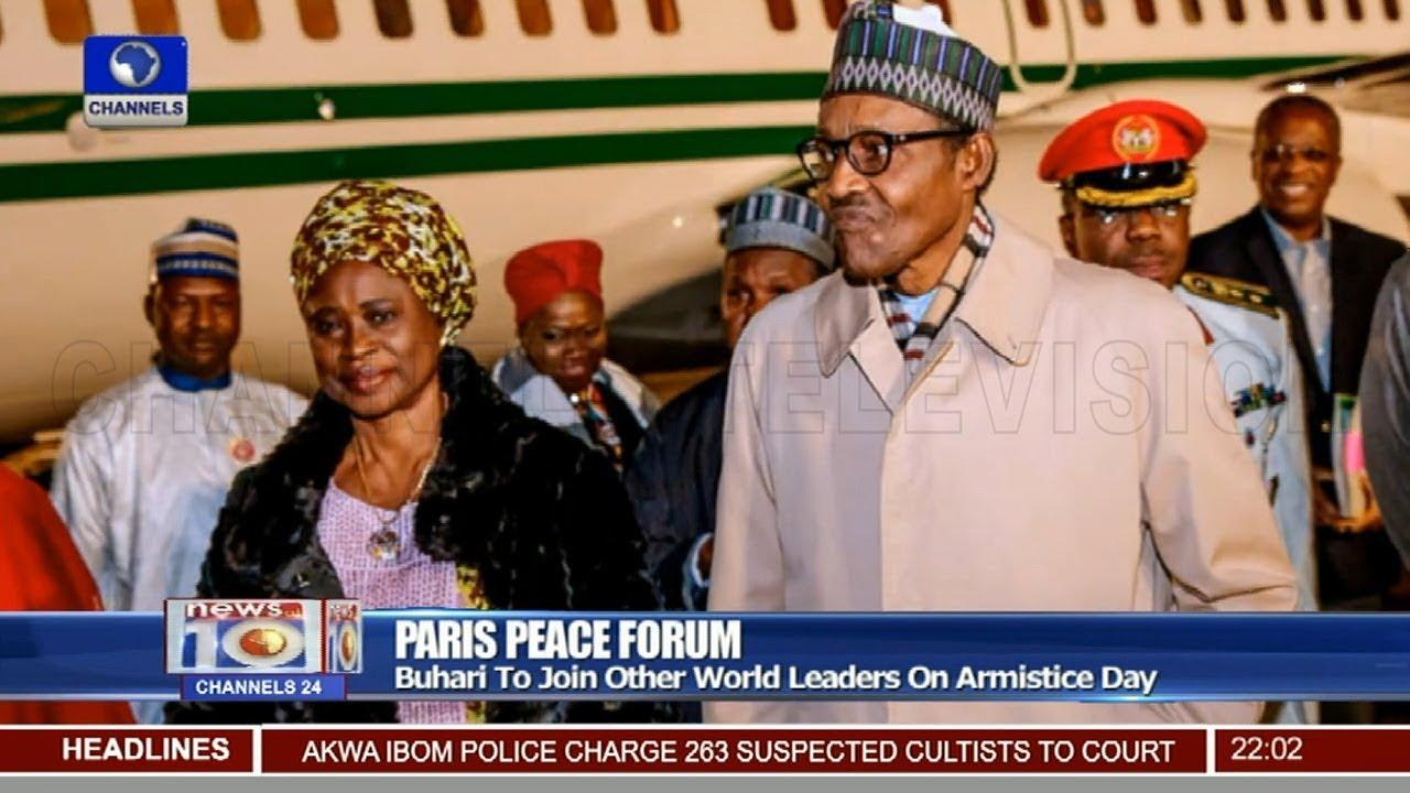 Paris Peace Forum: Femi Adeshina Updates On President Buhari's Itinerary 10/11/18 Pt.1  News@10
