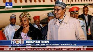 Paris Peace Forum: Femi Adeshina Updates On President Buhari's Itinerary 10/11/18 Pt.1 |News@10|
