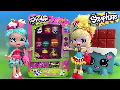 Shopkins Poupée Popette Distributeur de Shopkins Saison 3 Jouets pour fille