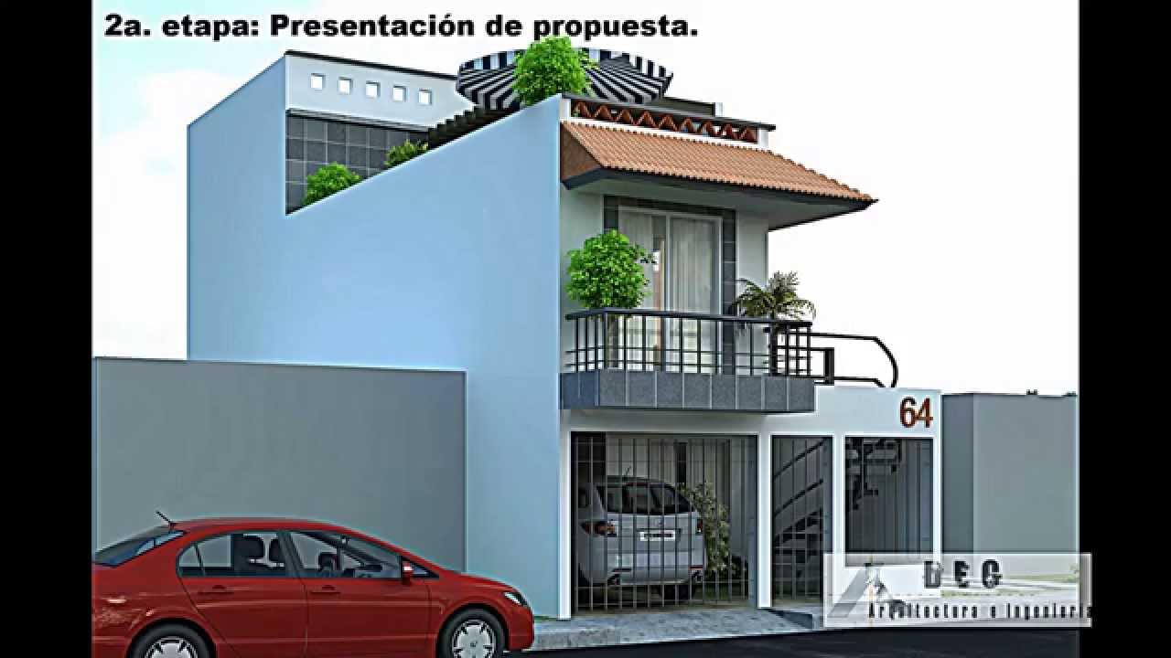 Remodelaci n de casa habitaci n youtube for Planos para remodelar mi casa