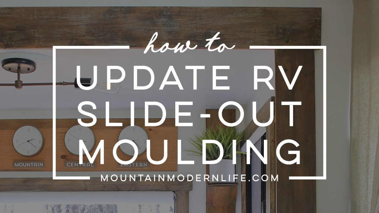 How to Update RV Slide-Out Moulding
