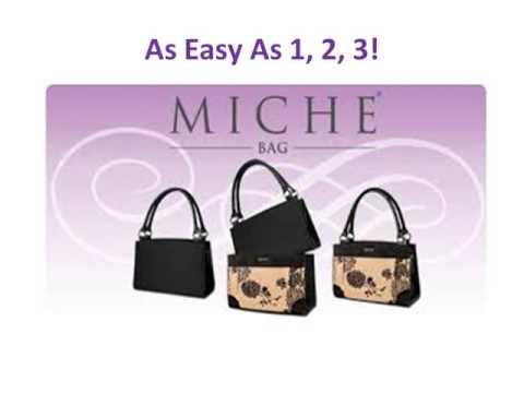 Miche Handbags Purses Shells Accessories Faces