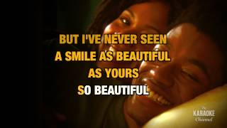 "A Smile Like Yours in the Style of ""Natalie Cole"" with lyrics (with lead vocal)"