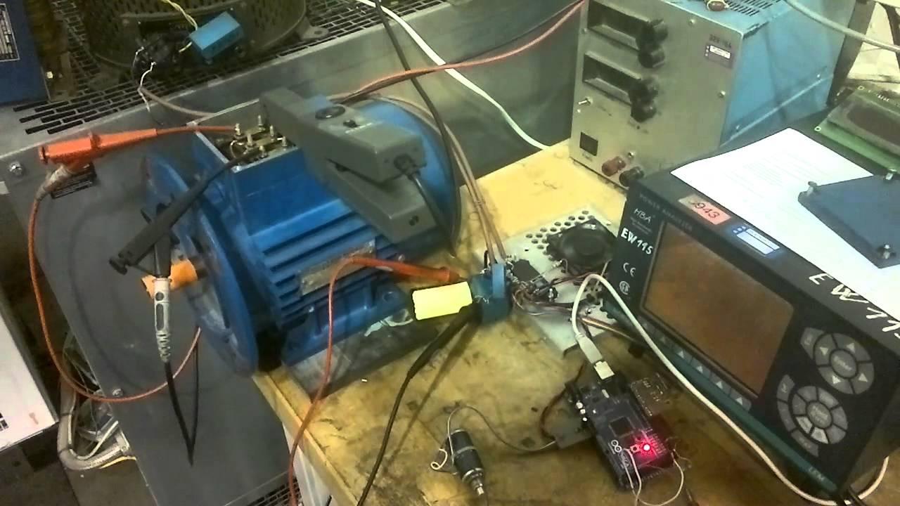 Three phase inverter Arduino 2560 controlled