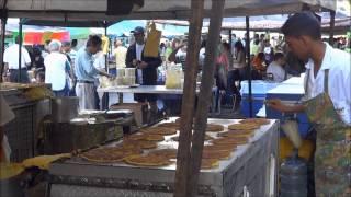 A Popular Cachapa Stall, Caracas