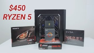 $450 Ryzen 1400 Gaming System