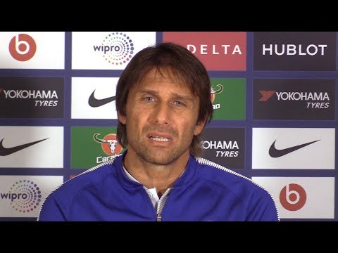 Antonio Conte Full Pre-Match Press Conference - Stoke v Chelsea - Premier League