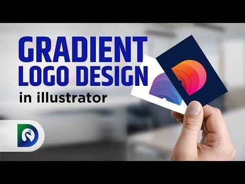 Illustrator Tutorial | Colourful Gradient Logo Design | Gujju Designer thumbnail