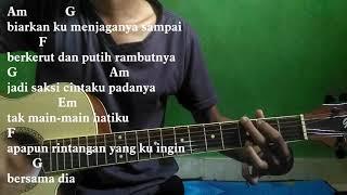 Chord/Kunci Gitar Mudah KuMau Dia - Andmesh  + Lirik