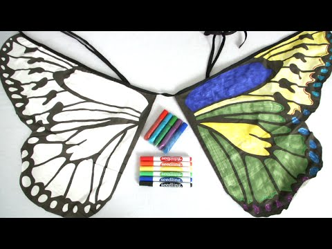 Design Your Own Butterfly Wings From Seedling Youtube