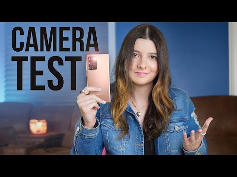 Note 20 Ultra Camera Test + Hands On!
