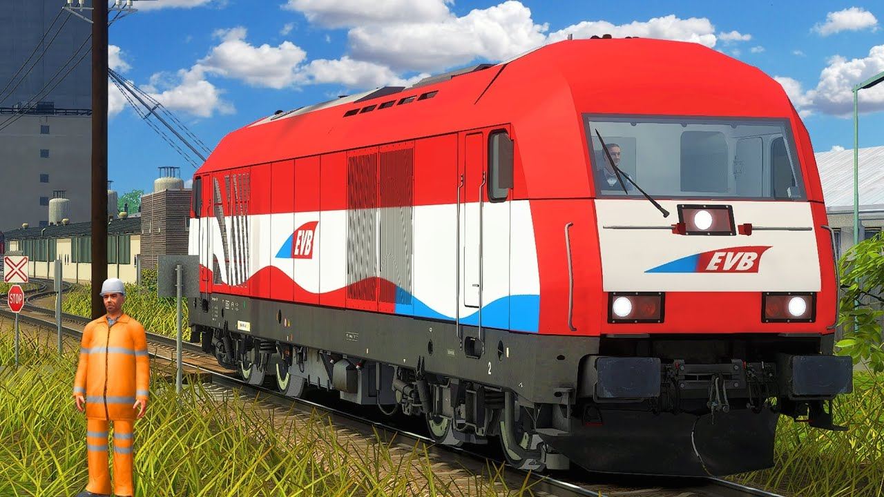 Innere Aspangbahn: Wiener Neustadt - Traiskirchen | Train Simulator 2020 | Siemens Eurorunner ER20