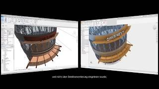 AUTODESK Inventor 2021 | Die Verschmelzung: Architektur & Maschinenbau (Video: 2:09 min.)