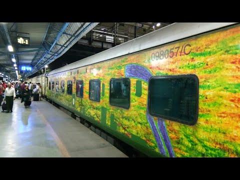 MUMBAI to NAGPUR - Journey by Duronto Express (PART 1)