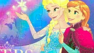 (2)KidsPuzzles Disney Movie Frozen Pincess Elsa&Anna sisters with instruction
