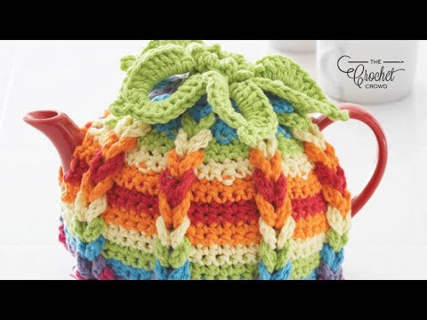 How To Crochet A Tea Pot Cover Youtube