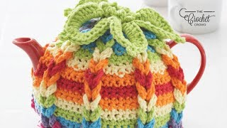 How To Crochet a Tea Pot Cover