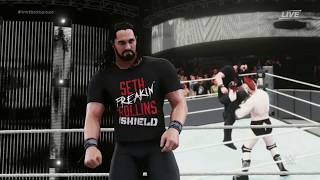 WWE 2K18 Entrance Titantron Movie Create : Seth Rollins Shield