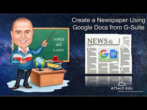 how-to-create-a-newspaper-using-google-docs-with-google-apps-for-education---g-suite-for-education