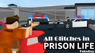 Prison Life v2.0.2 All Glitches! 2018 | ROBLOX
