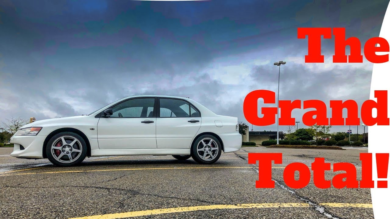 Evo 8 Bill From Buschur Racing Slow Cars Cost Money Too