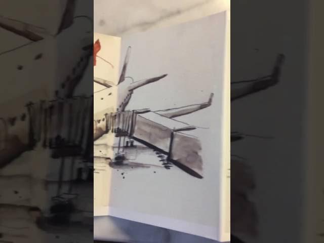 Japanese sketchbook print