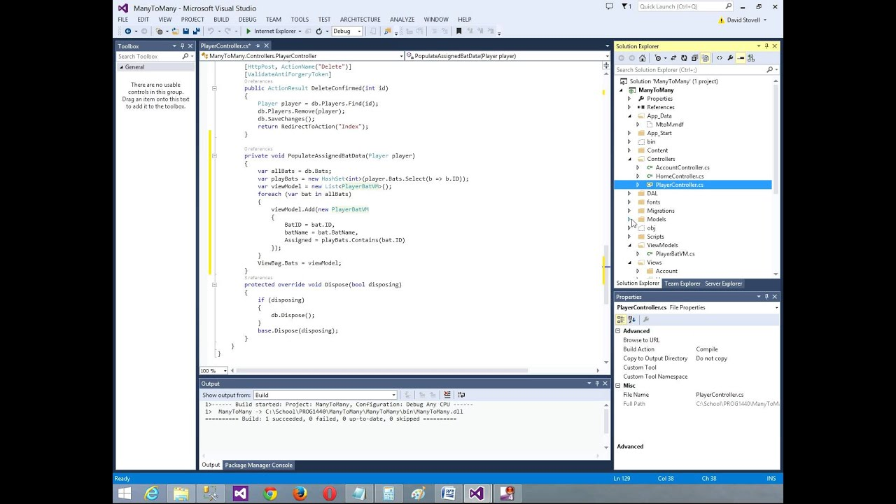 Download PROG1440 Entity Framework Many-To-Many Check Boxes