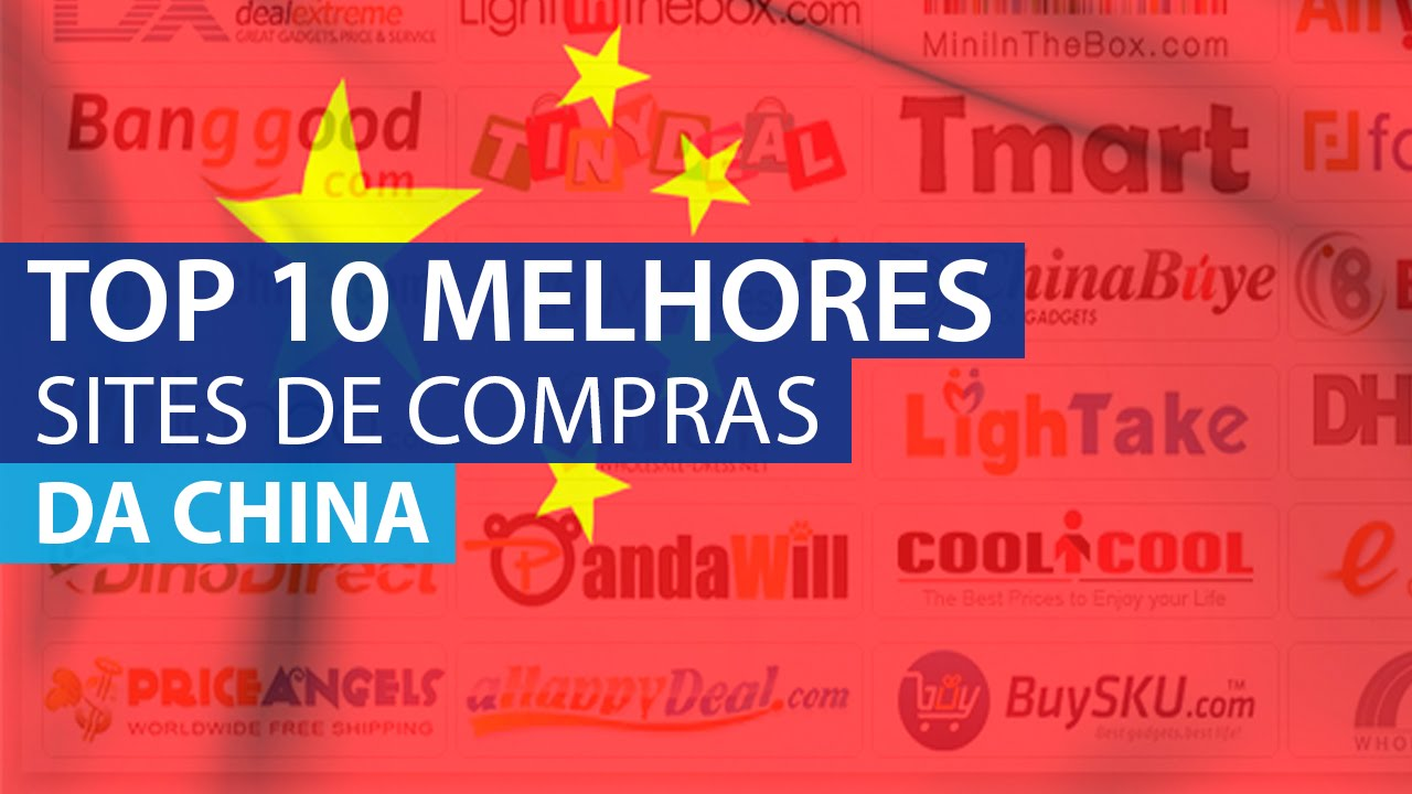 d088e5740 Top 10 Melhores Sites de Compras da China (Confiáveis) - YouTube