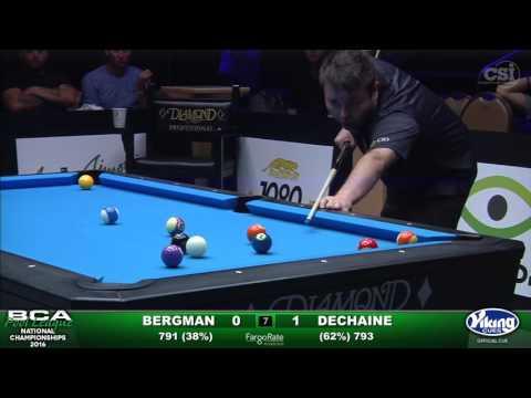 8-Ball Challenge - Finals Set 1 - Bergman vs Dechaine