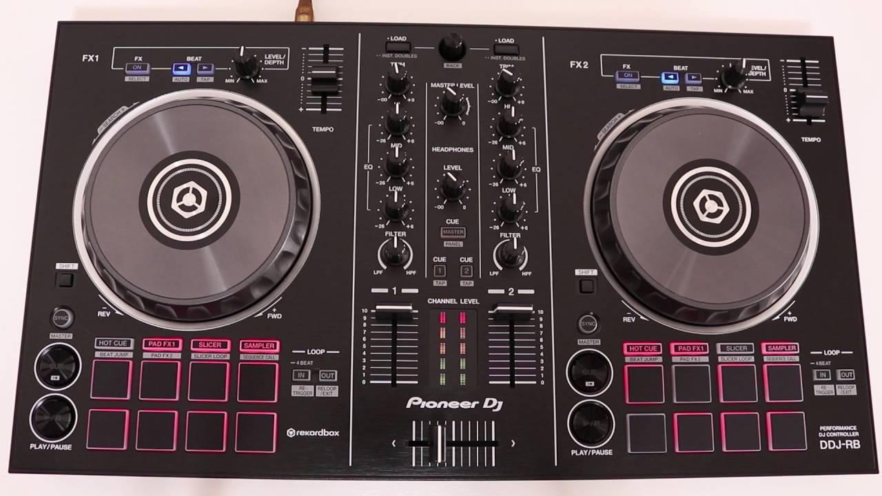PIONEER DDJ-RB DJ CONTROLLER DESCARGAR DRIVER
