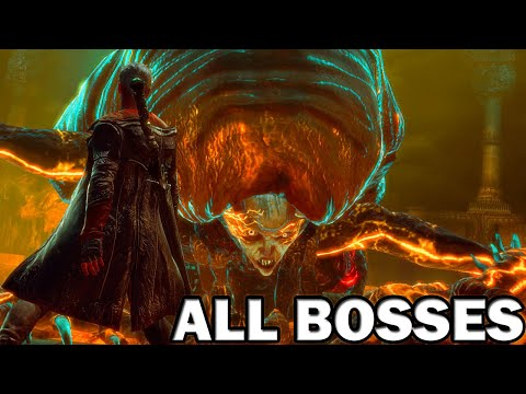 Devil May Cry (DmC) - All Bosses (With Cutscenes) HD
