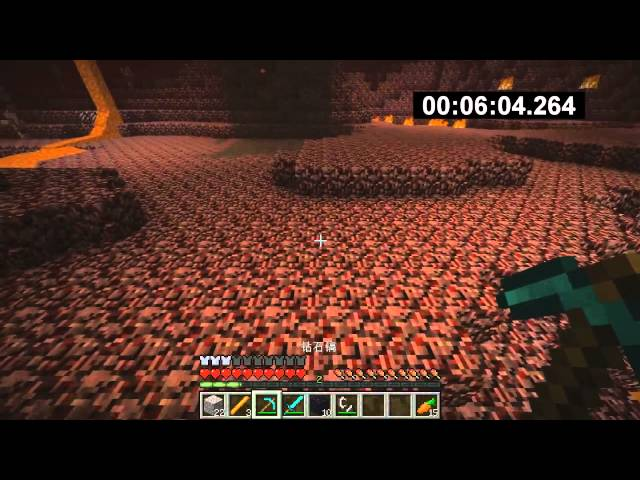 ?Minecraft?Speed Run in 10:28.728 ????10?????????