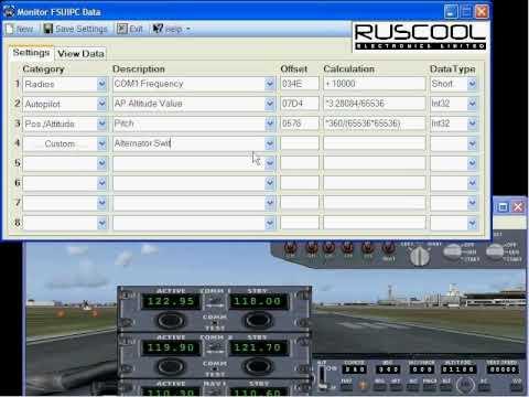 Monitor FSUIPC Data