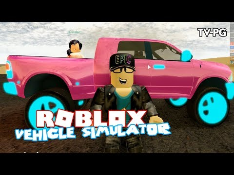 MONSTER TRUCK HOT PINK EDITION!  | Roblox Vehicle Simulator
