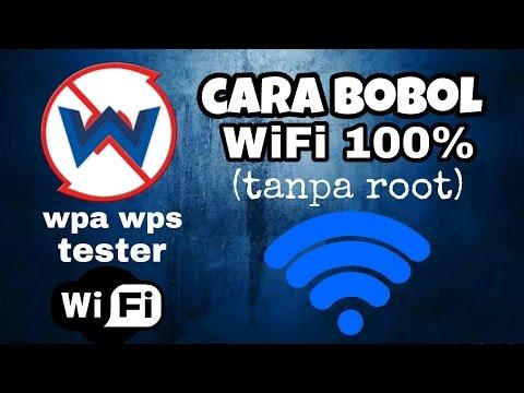 Cara membobol WiFi tanpa root 100% work