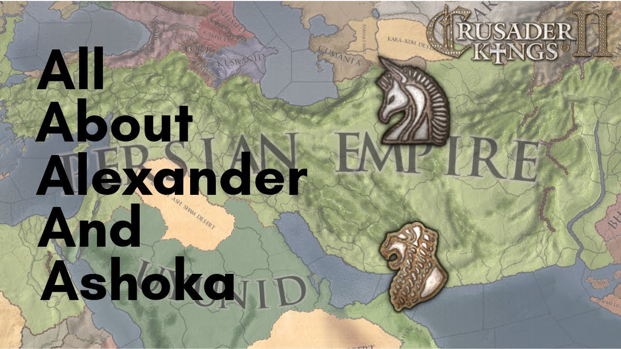 CK2 | All About Alexander and Ashoka events