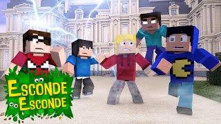 Minecraft: LIVRO TAZERCRAFT! (Esconde-Esconde)