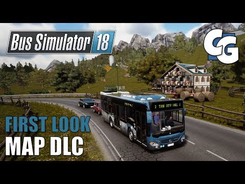Bus Simulator 18 - Official Map Extension DLC - First Look