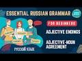 Beginning Russian: Adjectives. Adjective-Noun Agreement