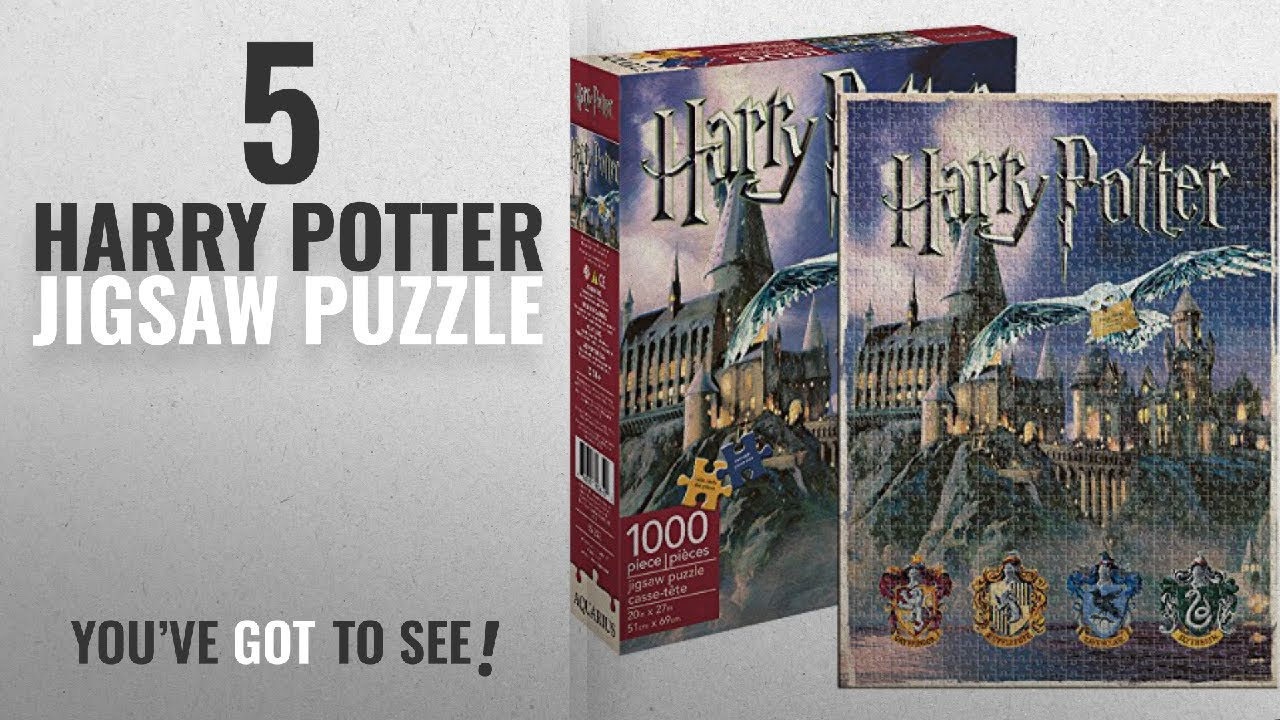 Top 10 Harry Potter Jigsaw Puzzle [2018]: Aquarius Harry Potter Hogwarts  1000 Piece Jigsaw Puzzle