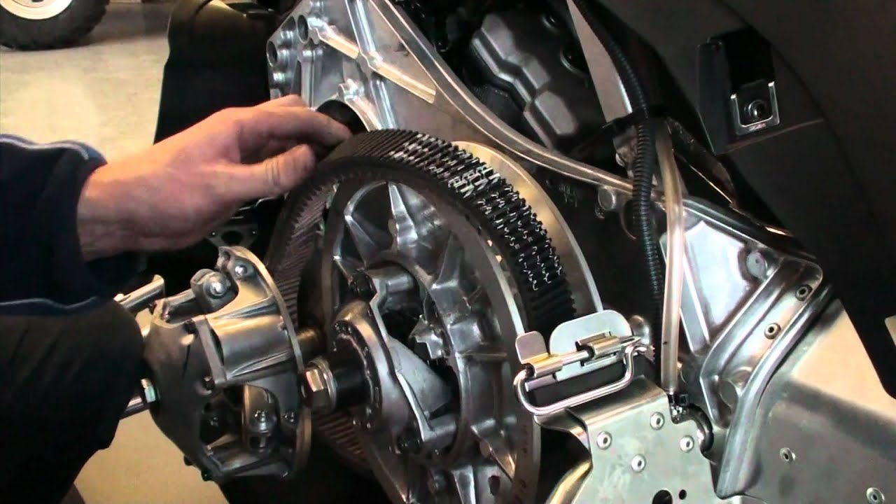 2011 Yamaha Belt Change Tech Tip Youtube