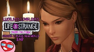 Life Is Strange Before The Storm Episode 2: Brave New World - END - Let's Play Blind Gameplay