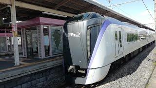 E353系あずさ5号南小谷行き 塩尻駅発車!